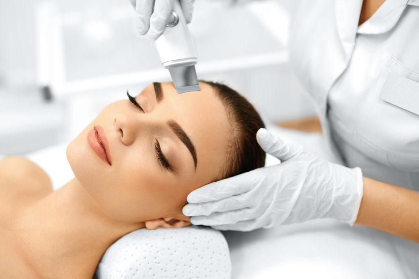 Ультразвуковое очищение кожи