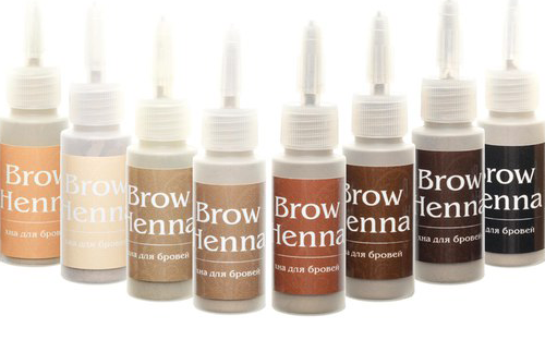 хна для покраски бровей brow henna