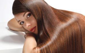 Выпрямление волос кератином